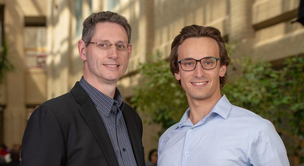 Colton Dalton and Pierre Wijdenes of Neuraura